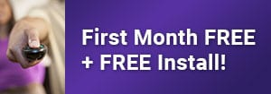 First Month Free and Free Install