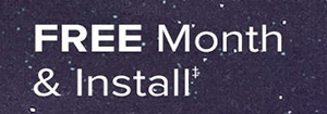Free Month and Install