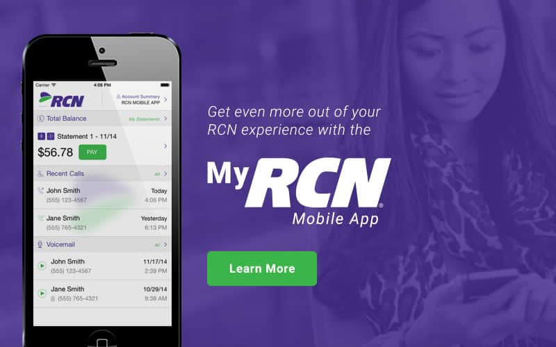 RCN Customer Center - tips for using your RCN services, webmail ...