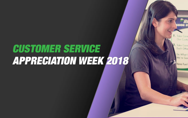 Customer Service Appreciation Week 2018