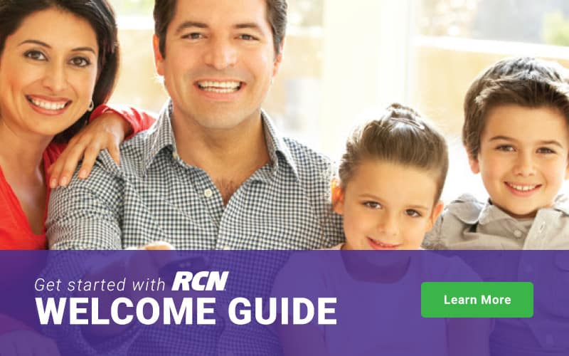 Customer Help, TV Equipment & Remote Guides and Internet Support   RCN