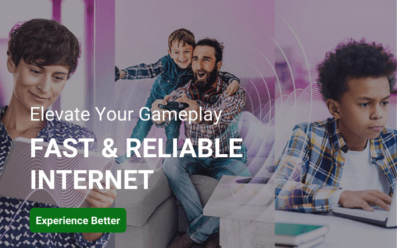 Elevate your gameplay | Fast Fiber Internet