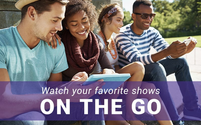 With RCN2GO - Take your RCN TV Anywhere You Go