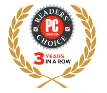 Readers Choice 3 Years in a Row