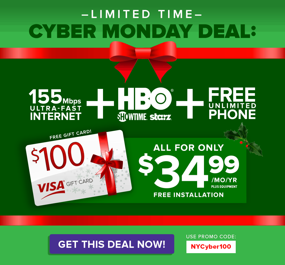 New York Cyber Monday Deals