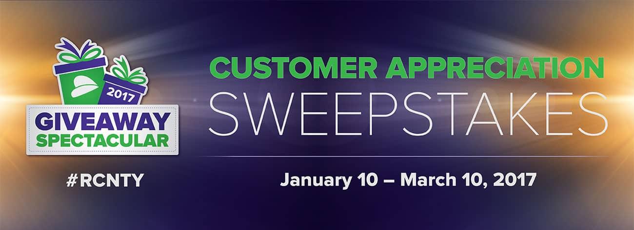 Rcn Customer Appreciation Sweepstakes