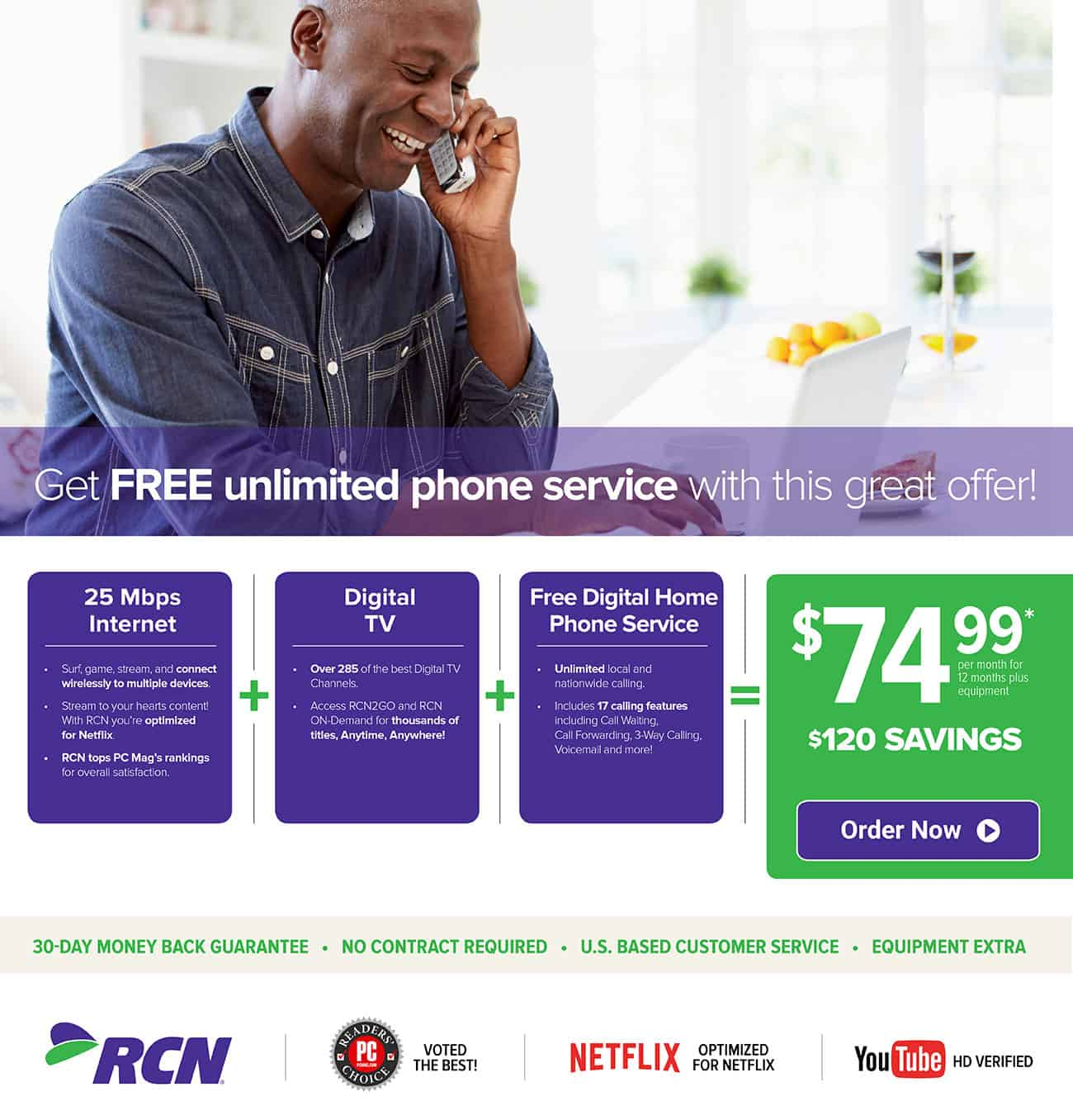 RCN Chicago   Special Offers