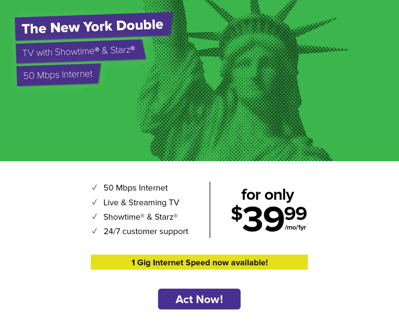 RCN New York   Special Offers