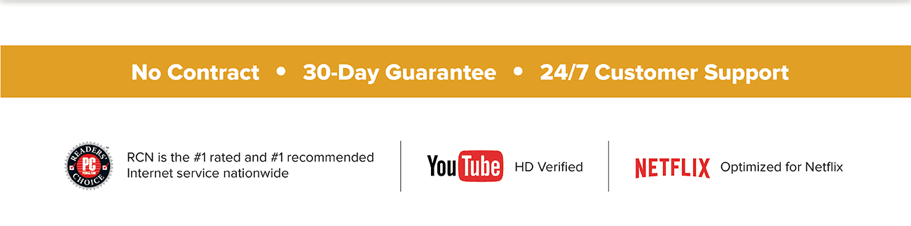 No Contract | 30-Day Guarantee | 24/7 Customer Support
