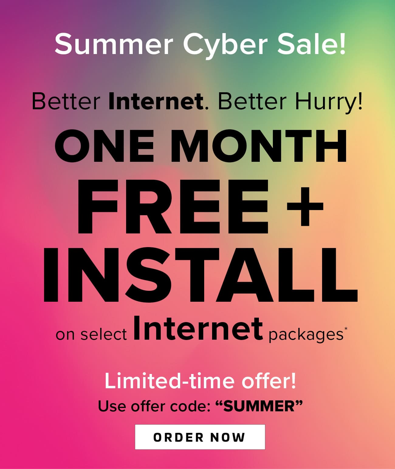 High Speed Internet, Digital Cable TV, Phone Special Offers | RCN DC