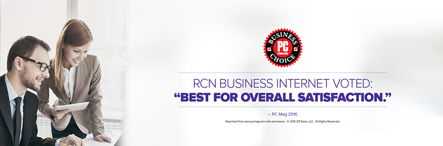 RCN Business Voted Best for Overall Satisfaction
