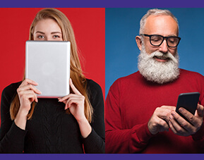 Millennials vs Baby Boomers: optimizing technology for  maximum audience impact