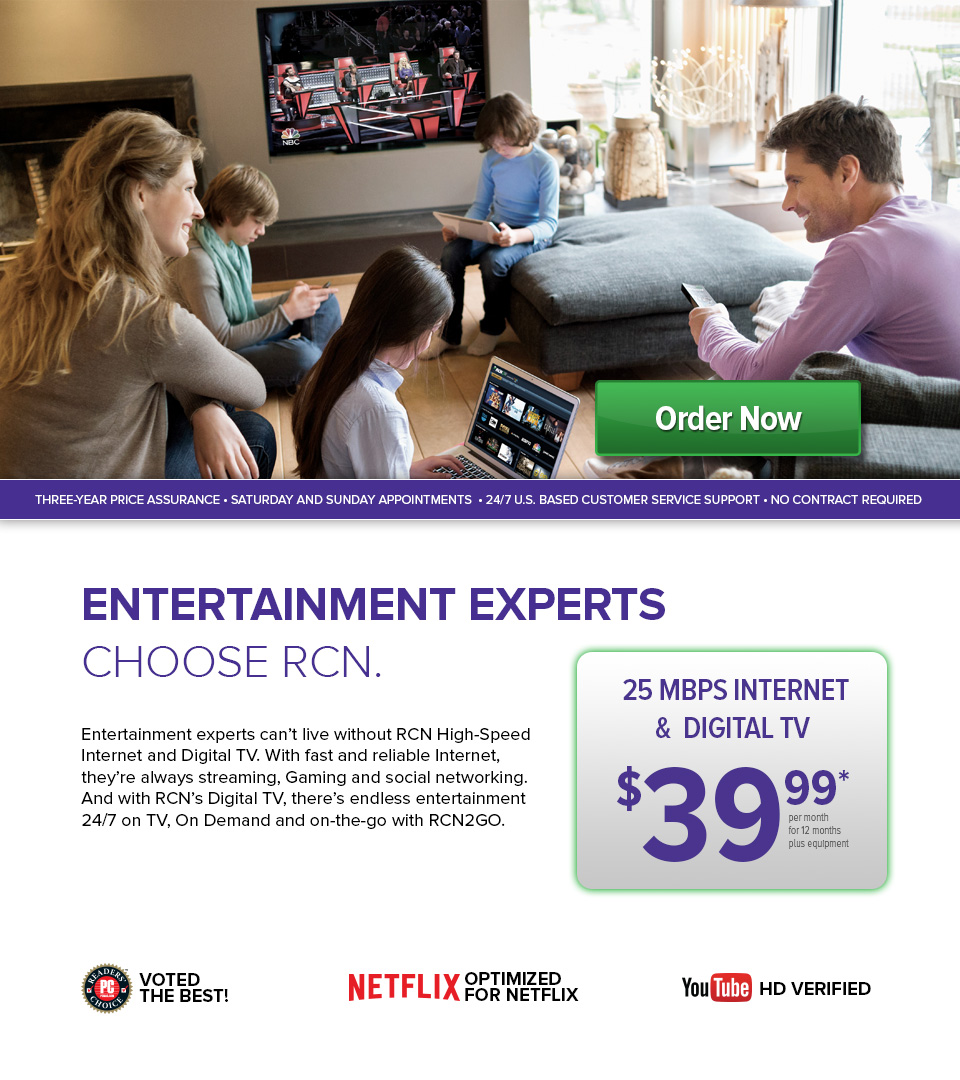$39.99 25 Mbps Internet and Digital TV
