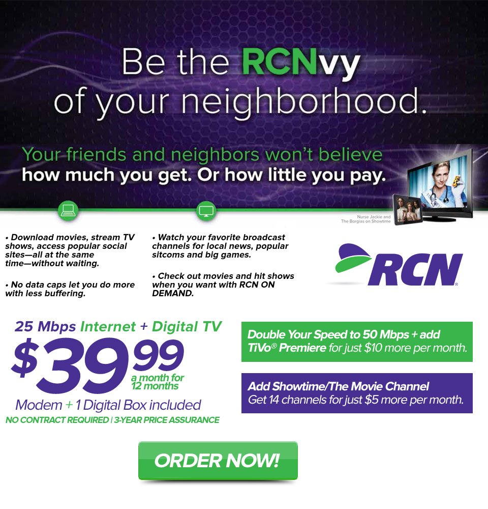 Be the RCNvy of Your Neighborhood!