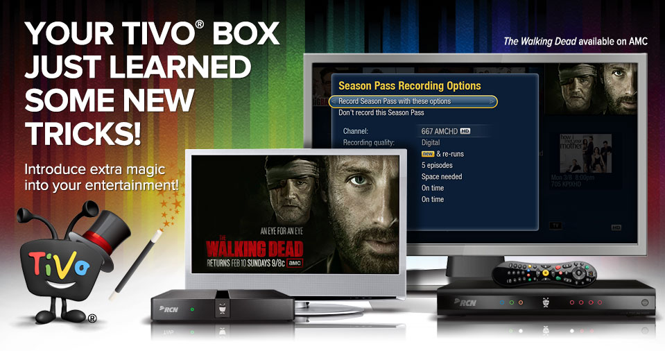 Your TiVo® box just learned some new tricks! Introduce extra magic into your entertainment!